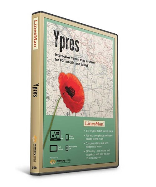 LinesMan YPRES maps (GWD-LINE-YPRES)
